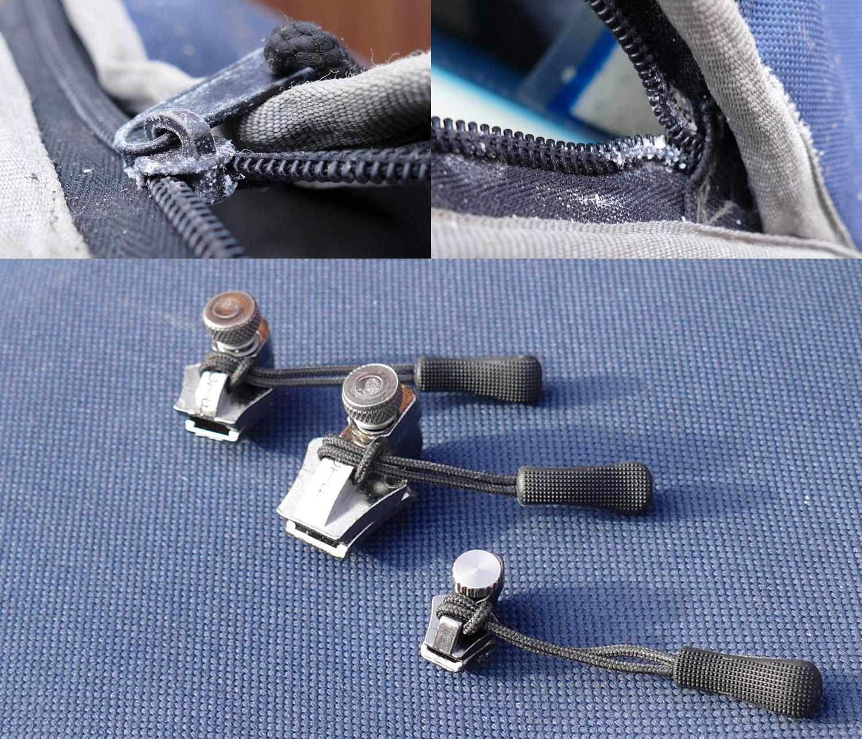 korrosion am rei verschluss reparatur mit zipper repair kit. Black Bedroom Furniture Sets. Home Design Ideas