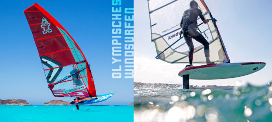 Competition: Olympisches Windsurfen